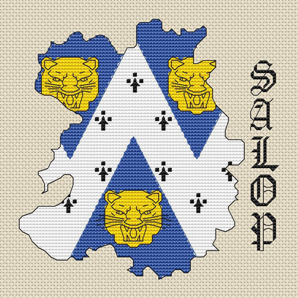 South Africa Map Amp Flag Cross Stitch Kit  Elite Designs