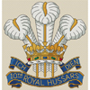 10th Royal Hussars Badge Cross Stitch Chart Only