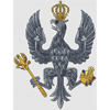 14th/20th King's Hussars Badge Cross Stitch Chart