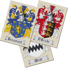 Click To View Product Information On Coat of Arms Cross Stitch Chart