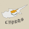 Cyprus Map & Flag Cross Stitch Chart Only
