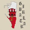 Gibraltar Map & Flag Cross Stitch Chart Only