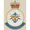 Her Majesty's Armed Forces Veteran Badge Cross Stitch Chart Only
