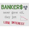 Bankers Lose Interest Cross Stitch Chart