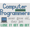 Computer Programmers Lose It Bit By Bit Cross Stitch Chart