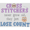 Cross Stitchers Lose Count Cross Stitch Chart