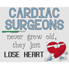 Cardiac Surgeons Lose Heart Cross Stitch Chart