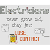 Electricians Lose Contact Cross Stitch Chart