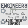 Engineers Lose Their Bearings Cross Stitch Chart