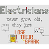 Electricians Lose Their Spark Cross Stitch Chart