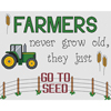 Farmers Go To Seed Cross Stitch Chart