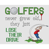 Golfers Lose Their Drive Cross Stitch Chart