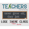 Teachers Lose Their Class Cross Stitch Chart