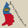 Liechtenstein Map & Flag Cross Stitch Chart Only