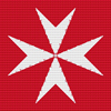 Maltese Cross Cross Stitch Chart