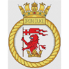 "HMS Intrepid Royal Navy Ship Crest Cross Stitch Design 6x8/"",15x20cm,kit//chart"