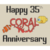 35th (Coral) Anniversary Cross Stitch Chart