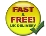 Fast & Free UK Delivery